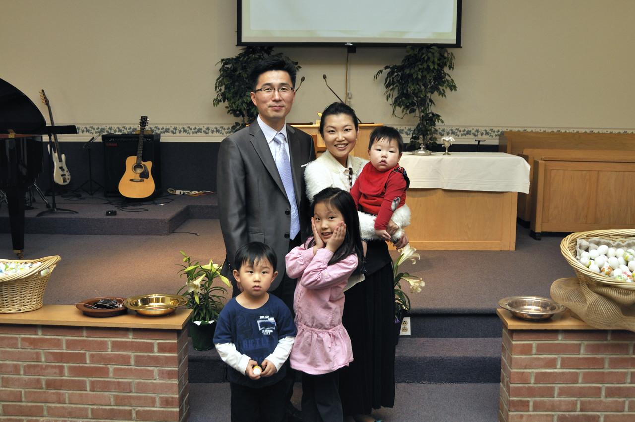 목사님 가족