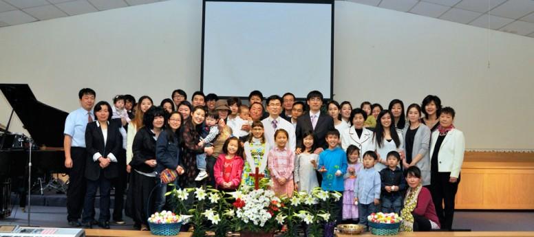 2015 부활절 단체사진